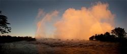 239A_LZmS_292629 Dawn Rainbow, Victoria Falls