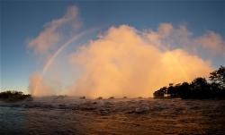 240A_LZmS.293741A Dawn Rainbow, Victoria Falls