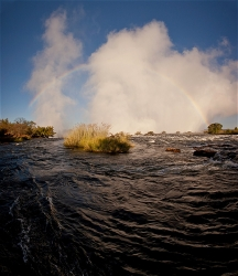 243A_LZmS_302022V After Dawn, Victoria Falls & Rainbow